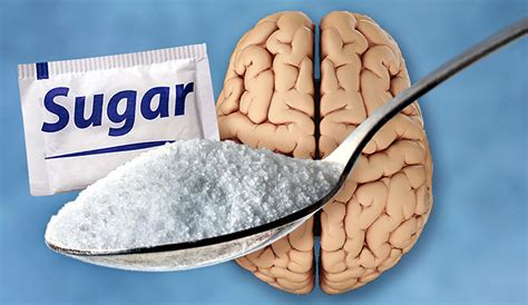 effect  sugar   brain glucose rush shrinks