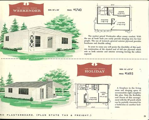 cape cod house plans with porch factory built houses 28 pages of lincoln homes from 1955
