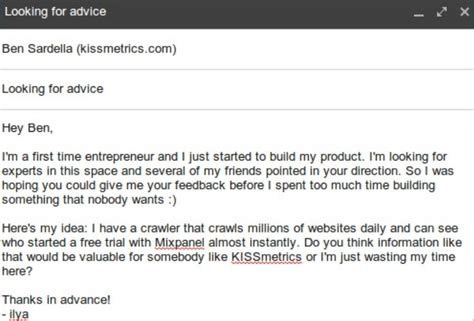 Ilya Sermin Used Cold Emails To Get Datayze Funded By Mark