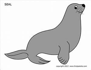 Free Printable Animal Masks Templates Seal Free Printable Templates Coloring Pages
