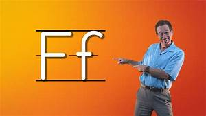 Learn The Letter F | Let's Learn About The Alphabet ...