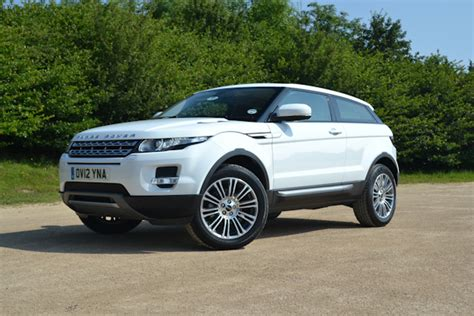 range rover evoque coupe uk review carwow
