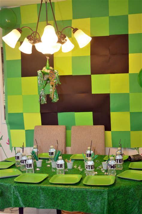 minecraft party ideas   ultimate minecraft