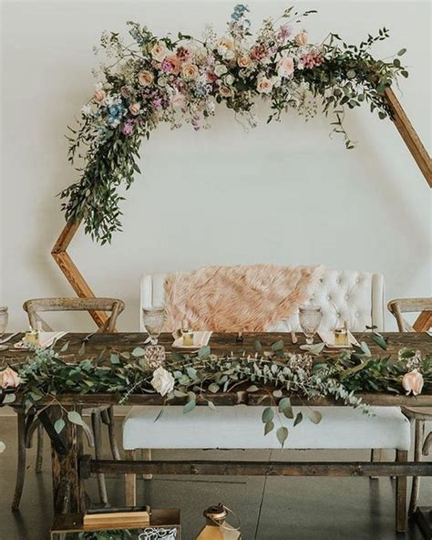 18 Sweet Wedding Head Table Backdrop Ideas Oh Best Day Ever