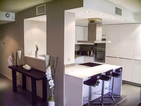 cave a vin de cuisine appartement lyon 6 agencement cuisine design ilot central