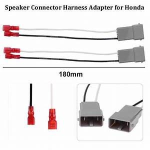 8 U0026quot  Car Radio Speaker Wire Harness Adapter Plug Easy