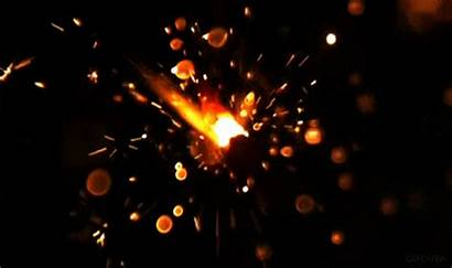 Loop Sparks Fire Slow Motion Animated Giphy