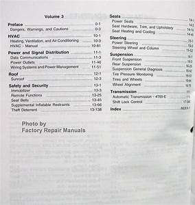 2009 Chevy Impala Service Manual Original Shop Repair