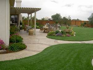 Backyard designs landscaping photos for Yard landscape design
