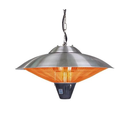sense 1 500 watt stainless steel hanging halogen