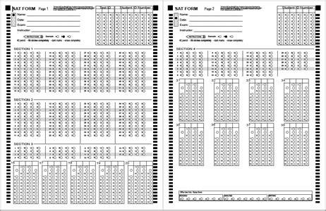 answer sheets bubblescan