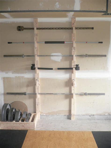 homemade barbell rack diy home gym home gym design