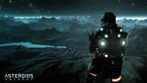 asteroids outpost sci fi shooter fps survival sandbox