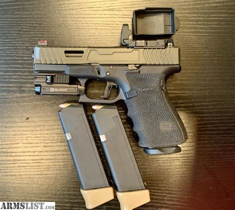 Armslist For Saletrade Gen 4 Glock 19 Mos Custom