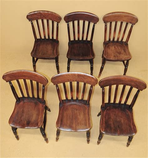 6 farmhouse kitchen chairs r3539 antiques atlas