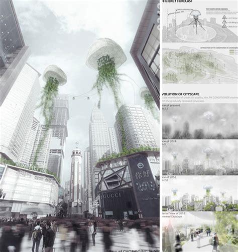 Future Architecture: 7 Surreal Award Winning Skyscrapers