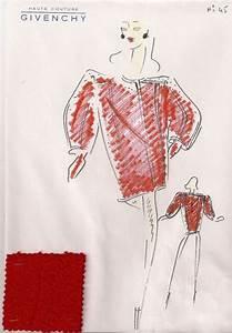 givenchy croquis echantillon de tissu tailleur robe With croquis robe