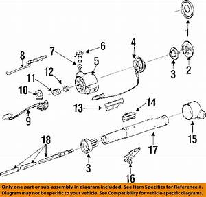 Gm Oem Steering Column Assembly