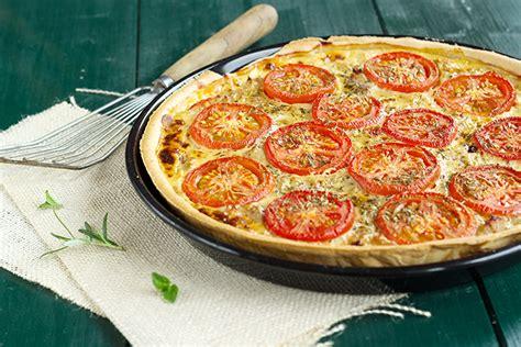 recette de cuisine midi en tarte au thon aux tomates et à la moutarde une