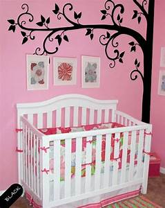 Tree wall decal nature removable vinyl stickers baby