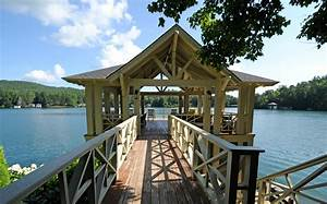 Lake house ideas porch rustic with natural landscape deck