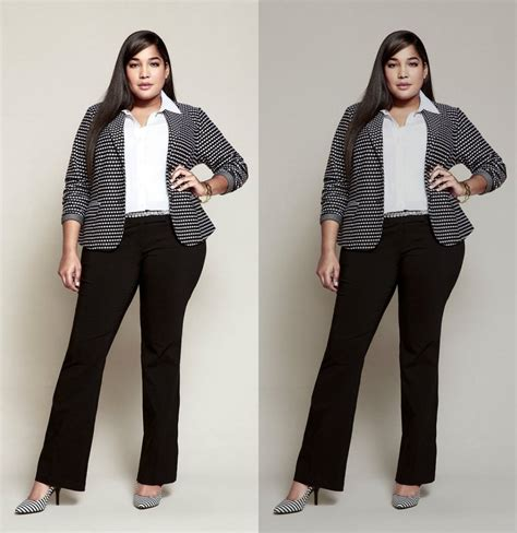Affordable plus Size Office Outfits Ideas - Womenitems.Com