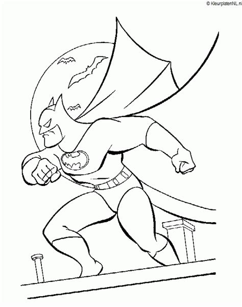 Kleurplaat Batman En Robin by Batman Kleurplaat