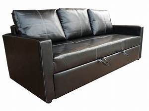 Leather modern pull out sofa bed buy pull out sofa bed for Buy pull out sofa bed