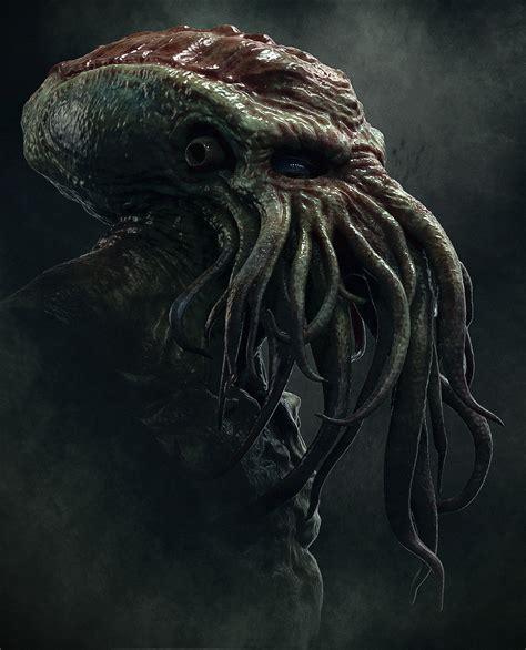 Lovecraft Creatures Art