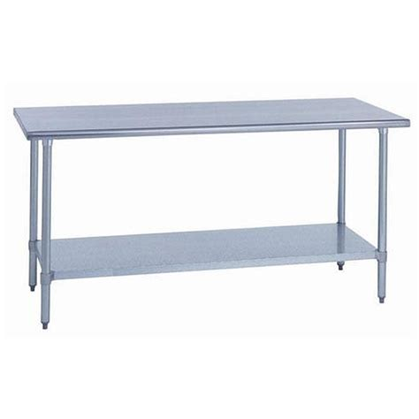 30 x 48 stainless steel table 30 inch w x 48 inch l stainless steel work table