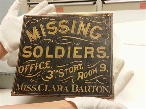 clara bureau updates on the clara barton missing soldiers office museum