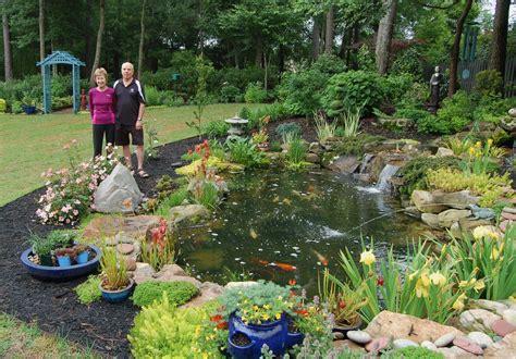 Sc Koi & Water Garden Society Opens 2013 Tour Hortitopia