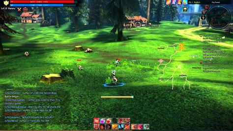 tera  gameplay pvp  exiled realm  arborea