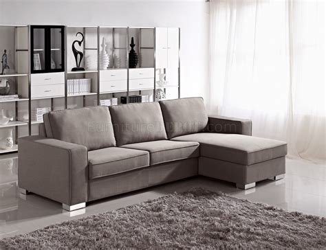 Recliner Chair Bed by 1264 Sectional Sofa Bed Convertible In Fabric By Esf