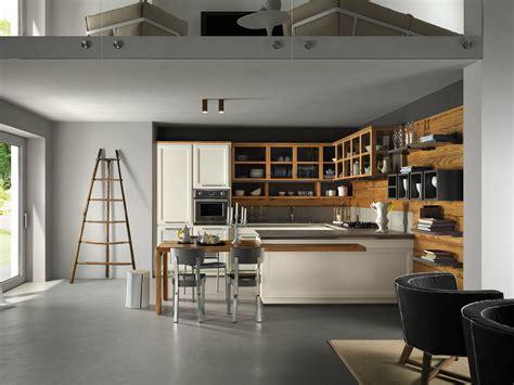 cuisine avec veranda cuisine intégrée avec péninsule living veranda by l 39 ottocento