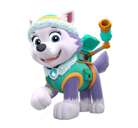 everest jumping paw patrol clipart png everest paw patrol wiki fandom powered by wikia Unique