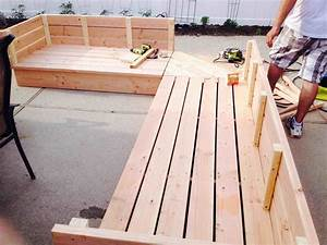 Outdoor garden unique how to build ahfhomecom my home and for Build outdoor sectional sofa