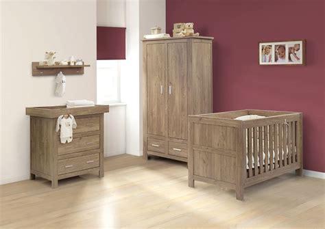 oak wood furniture set for nursery room homescorner