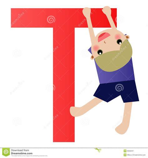 alphabet letter tboy royalty  stock photography