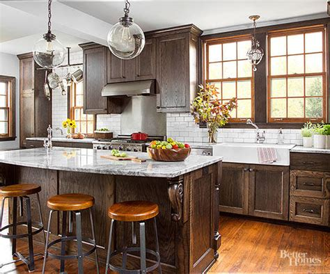 best wood for kitchen cabinets 2015 kitchen cabinet wood choices better homes gardens
