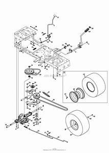 Mtd 13a277ss299  247 288870   Lt1500   2013  Parts Diagram
