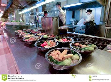 cuisine mar food market in shanghai china editorial photo