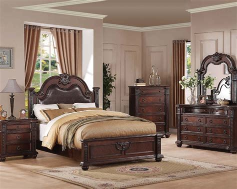 traditional bedroom set daruka  acme furniture acset