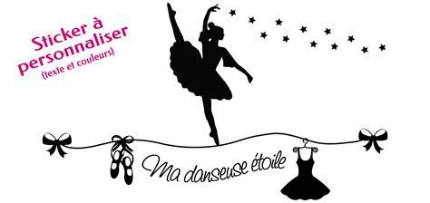 stickers pour chambre ado cuisine sticker quot danseuse sur fil quot personnalisã sur le