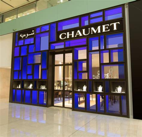 chaumet boutique facade   dubai  redesign  jean