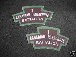 1st canadian parachute battalion title printed canada
