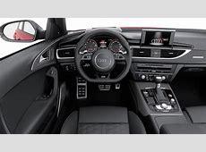 2015 Audi RS6 Avant interior