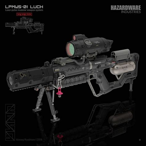 weapons future deviantart futuristic painting guns