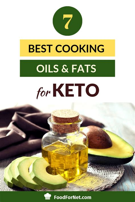 keto cooking oils fats oil healthy diet