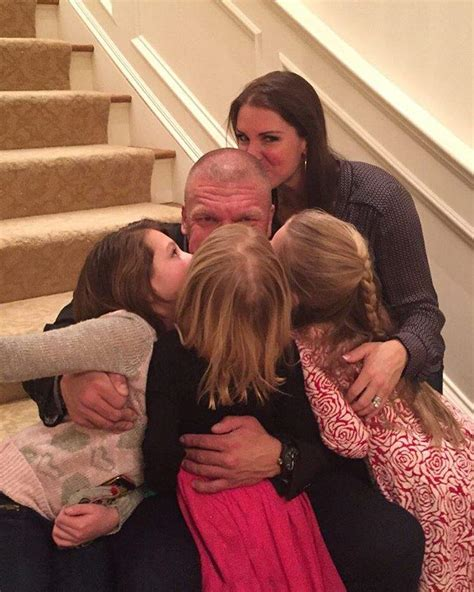 Triple H & Stephanie Mcmahon's Family The Pictures You